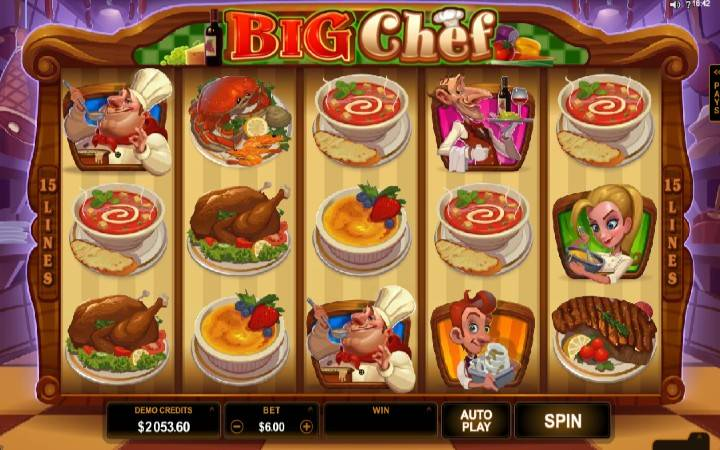 Big Chef, kazino, online casino bonus
