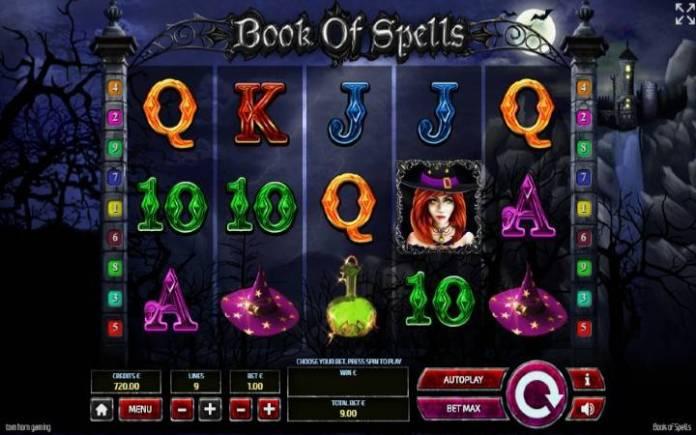 Book of Spells, online casino bonus