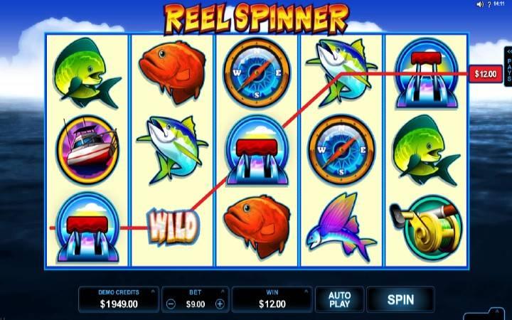 Online casino Bonus, Reel Spinner