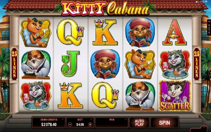Kitty Cabana, Online Casino Bonus