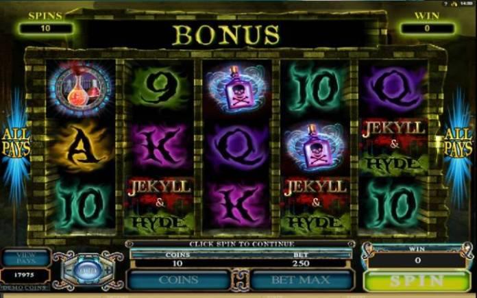 Besplatni spinovi, online casino bonus, Jekyll and Hyde