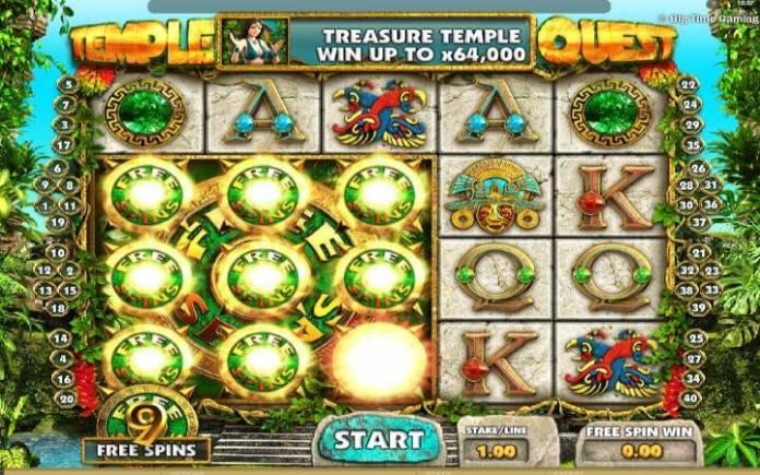 Online Casino Bonus, Temple Quest