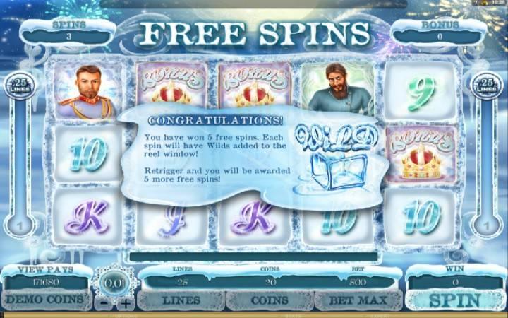 Online Casino bonus, besplatni spinovi, The Lost Princess Anastasia