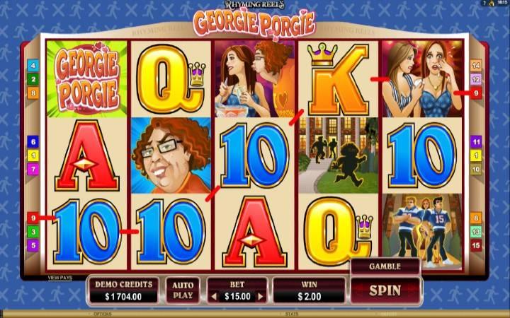 Online Casino Bonus, Georgie Porgie