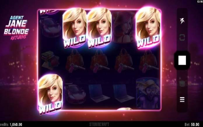 Agent Jane Blond Returns, Online Casino Bonus