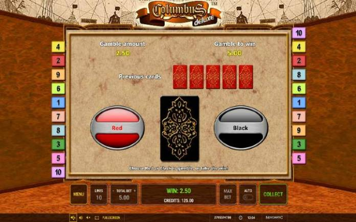 Kockanje, online casino bonus, kazino, Columbus Deluxe