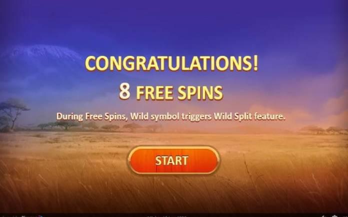 Besplatni spinovi, online casino bonus, Mighty Africa