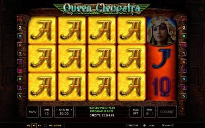 Online casino bonus, Besplatni spinovi, Queen Cleopatra