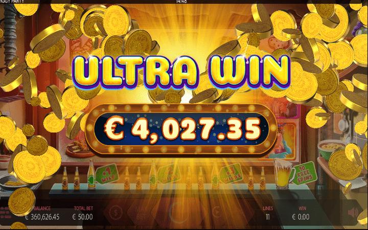 Online Casino Bonus, Piggy Party