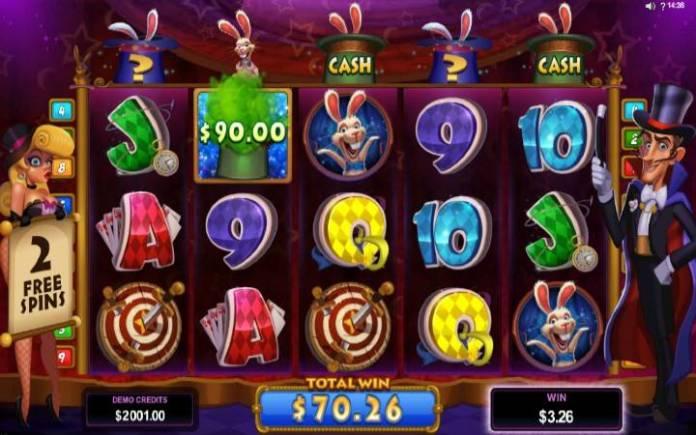 Cash prize, Rabbit in the Hat, Online Casino Bonus