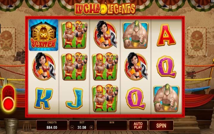 Lucha Legends, Online Casino Bonus