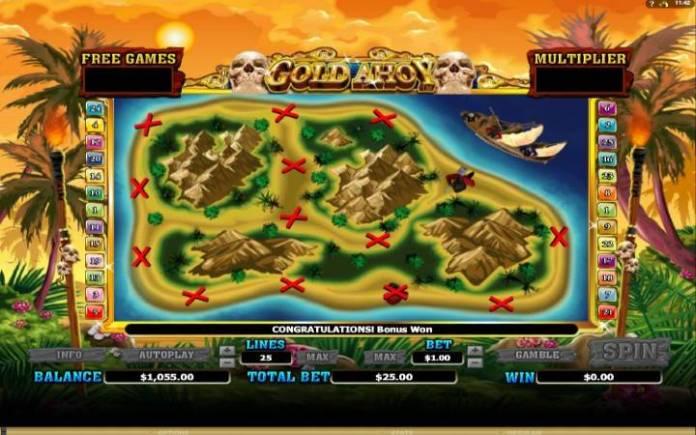 Besplatni spinovi, Online Casino Bonus, Gold Ahoy