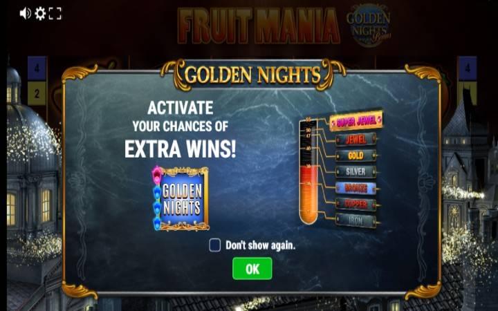 Fruit Mania Golden Nights
