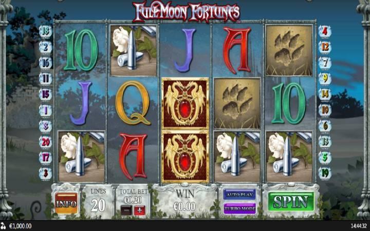 Full Moon Fortunes, online casino bonus, top 5 online slotova