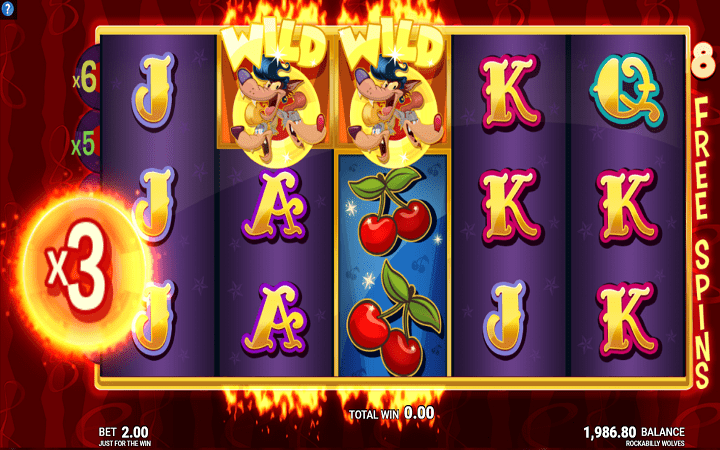 Rockabilly Wolves, Microgaming, Online Casino Bonus