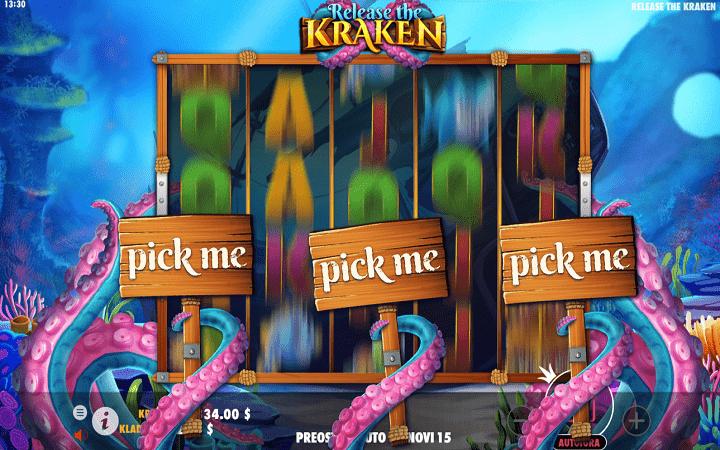 Release the Kraken, Pragmatic Play, Online Casino Bonus