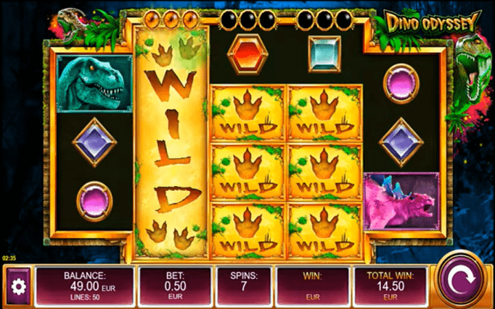 Dino Odyssey, Kalamba Games, Online Casino Bonus