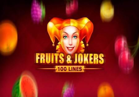 Fruits and Jokers: 100 lines – ostvarite slatke dobitke!