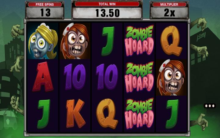 Zombie Hoard, Microgaming, Online Casino Bonus