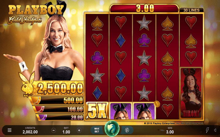 Playboy Gold Jackpot, Microgaming, Online Casino Bonus
