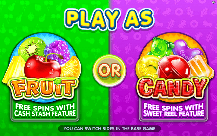 Fruit vs Candy, Microgaming, Online Casino Bonus