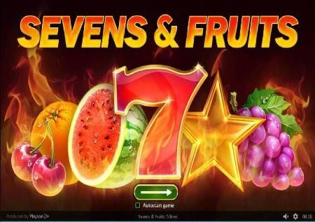 Sevens and Fruits – vaša formula srećnog dobitka