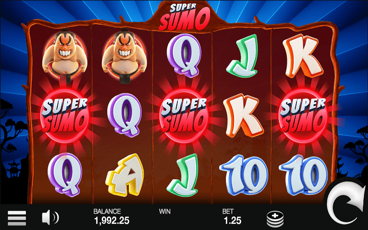 Super Sumo, Microgaming, Online Casino Bonus