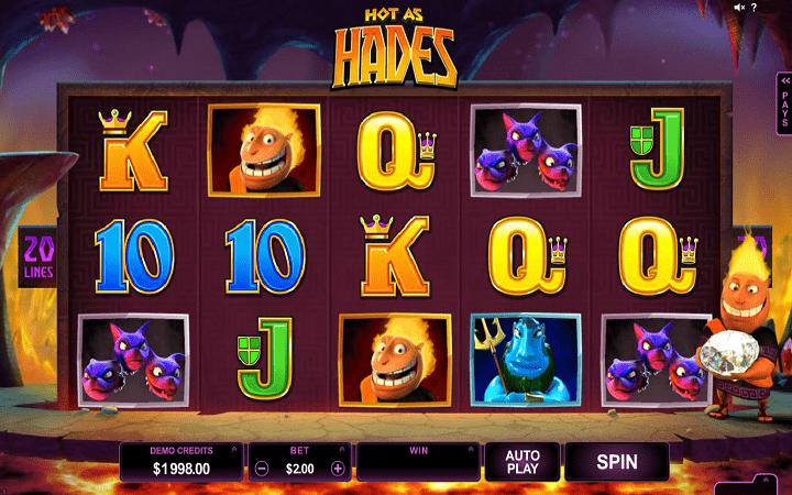 Hot as Hades, Microgaming Online Casino Bonus