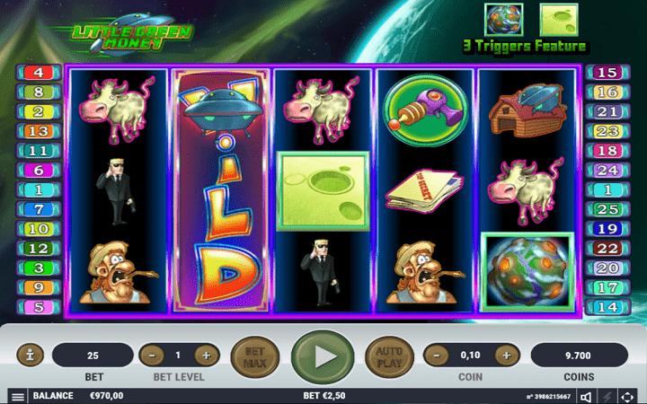 Little Green Money, Habanero, Online Casino Bonus