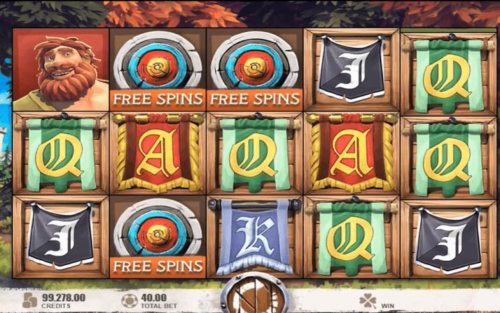 Robin of Sherwood, Microgaming, Online Casino Bonus