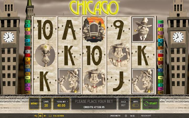 Chicago, Online casino bonus