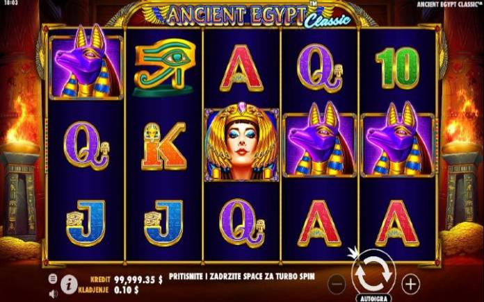 Ancient Egypt Classic, online casino bonus, pragmatic play
