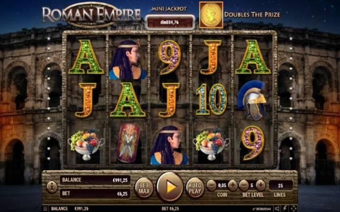 Roman Empire, Online Casino Bonus, online kazino igre