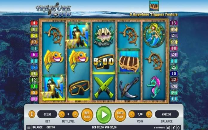 Treasure Diver, Online Casino Bonus, Habanero, online kazino igre