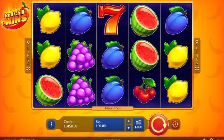 Red Chilli Wins, Online Casino Bonus, Playson