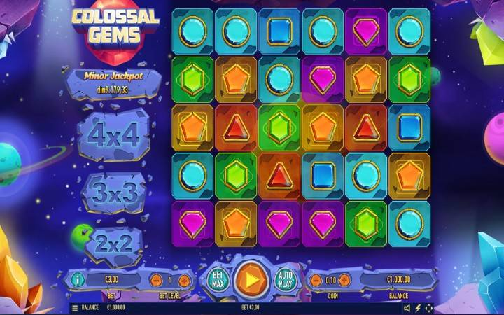 Colossal Gems, Habanero, Online Casino Bonus