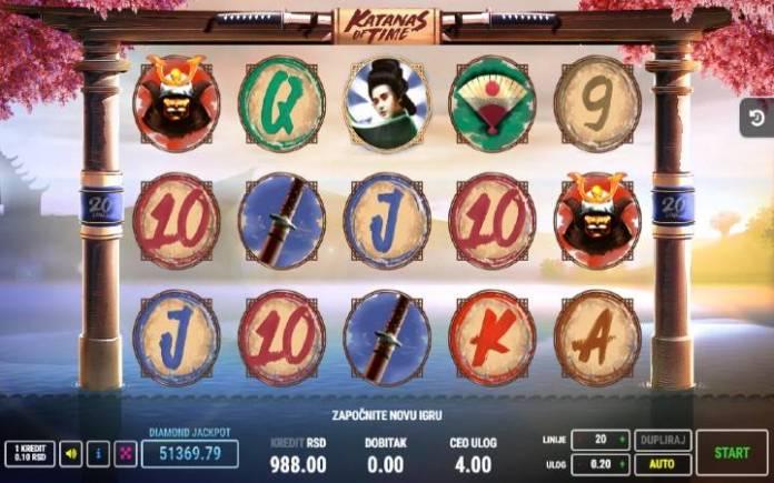 Katanas of Time, Fazi, Online Casino Bonus