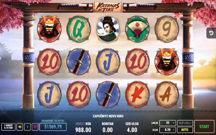 Katanas of Time, Fazi, Online Casino Bonus