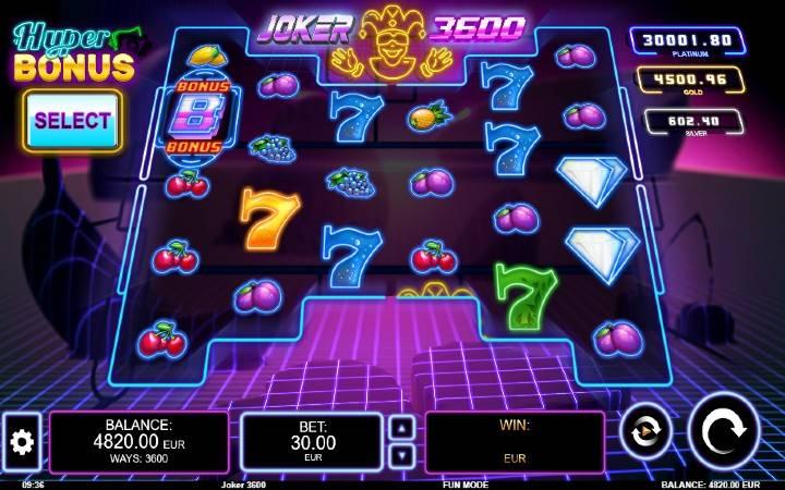 Joker 3600, Online Casino Bonus, Kalamba Games