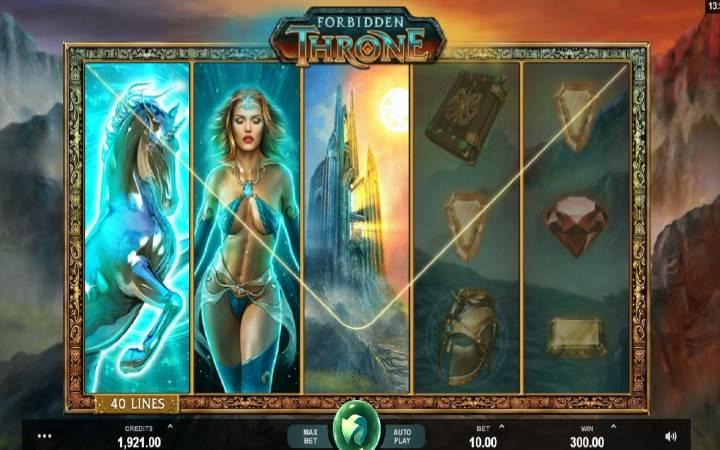 Forbidden Throne, Microgaming, Online Casino Bonus