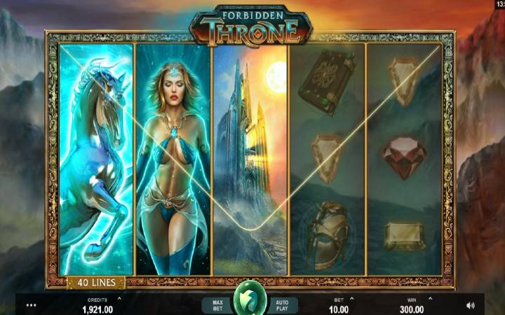 Forbidden Throne, Microgaming, Online Casino Bonus