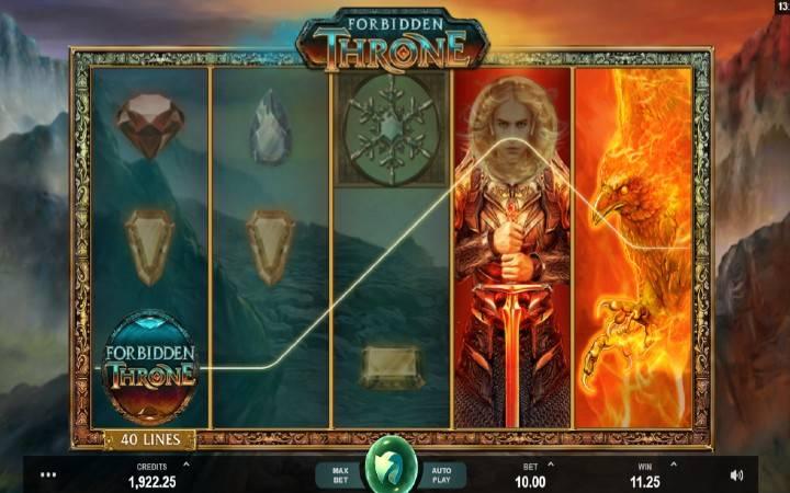 Džoker, Online Casino Bonus, Forbidden Throne