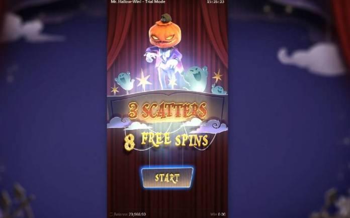 Besplatni Spinovi, Mr Hallow-Win, Online Casino Bonus