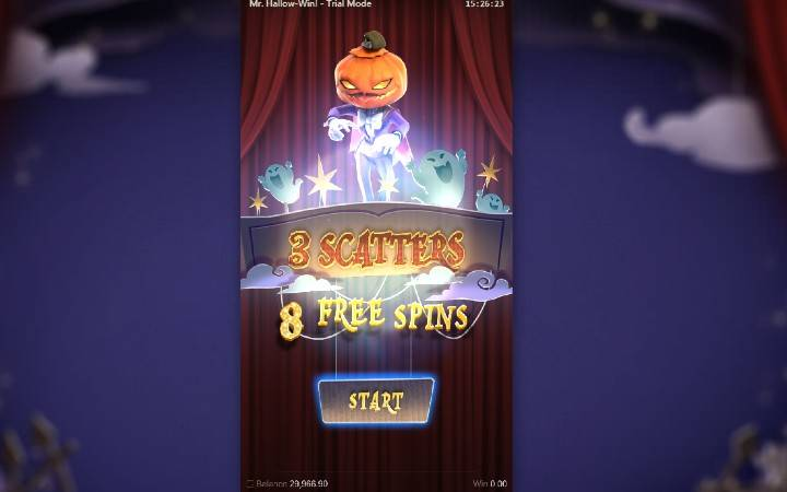 Besplatni Spinovi, Mr Hallow-Win, Online Casino Bonus