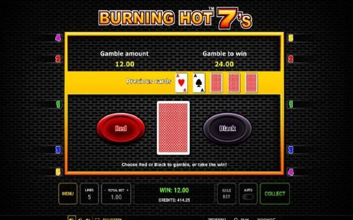 Kockanje, Online Casino Bonus, Burning Hot Sevens