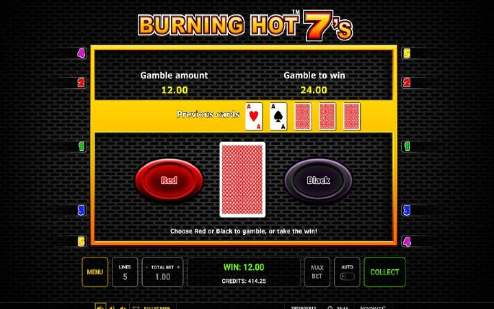 Kockanje, Online Casino Bonus, Burning Hot Sevens