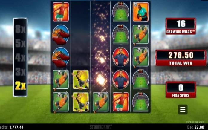 Online Casino Bonus, Besplatni Spinovi, Football Star Deluxe