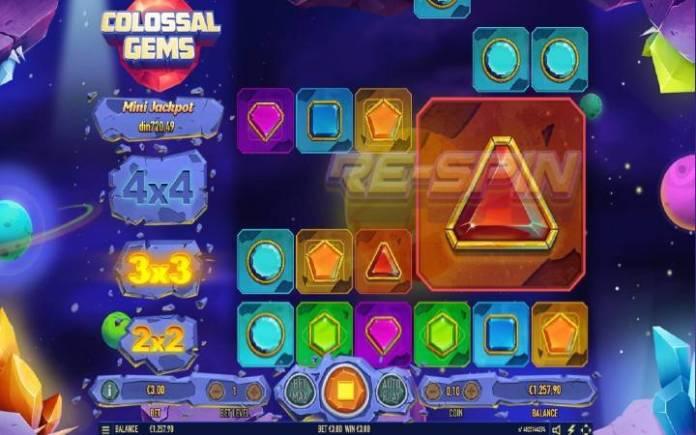 Respin, besplatni spinovi, Online Casino Bonus, Colossal Gems