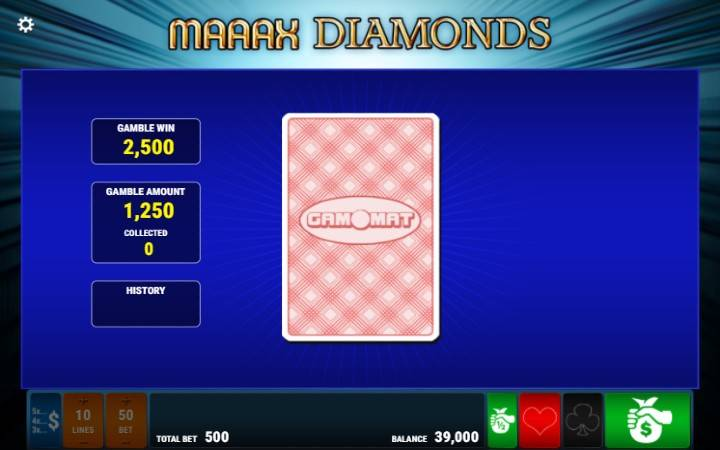 Maaax Diamonds, Online Casino Bonus, Kockanje