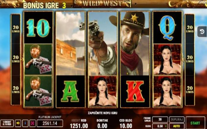 Bonus, Džoker, Online Casino Bonus, Wild West